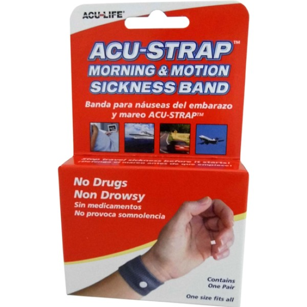 Acu-Life Acu-Strap Morning & Motion Sickness Wrist Band