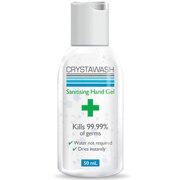 Crystawash Sanitising Hand Gel