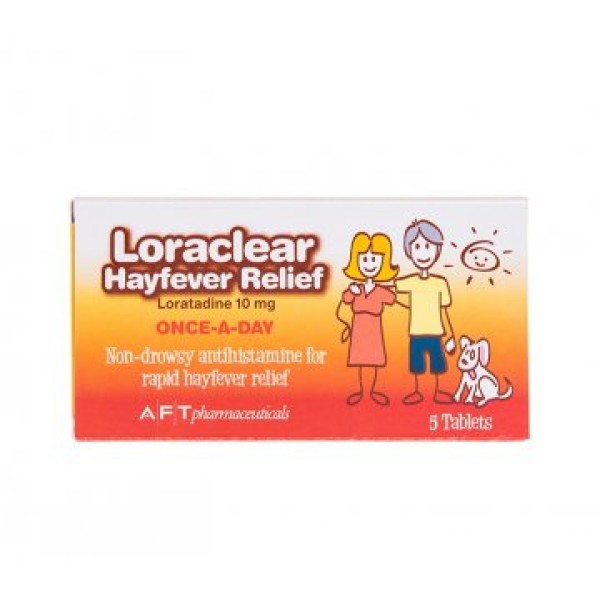 Loraclear Hayfever Relief 5 Tablets