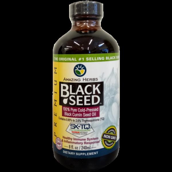 Amazing Herbs Black Seed Oil Premium 240ml