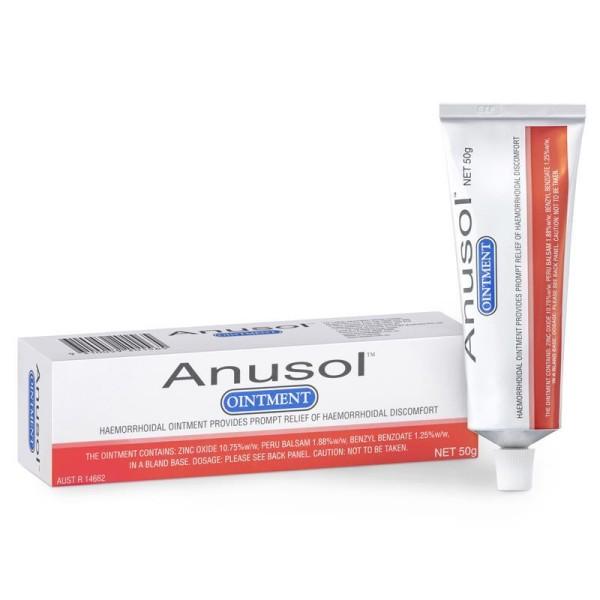 Anusol Haemorrhoid Ointment 50g