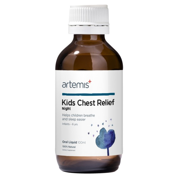 Artemis Kids Chest Relief Night 100ml