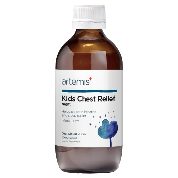 Artemis Kids Chest Relief Night 200ml