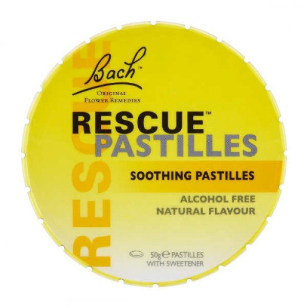 Bach Rescue Remedy Pastilles Original Flavour 50g