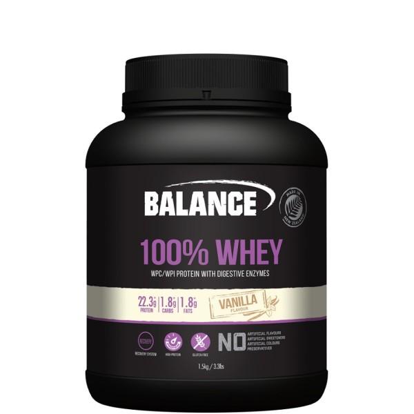 Balance 100% Whey Protein Powder Vanilla