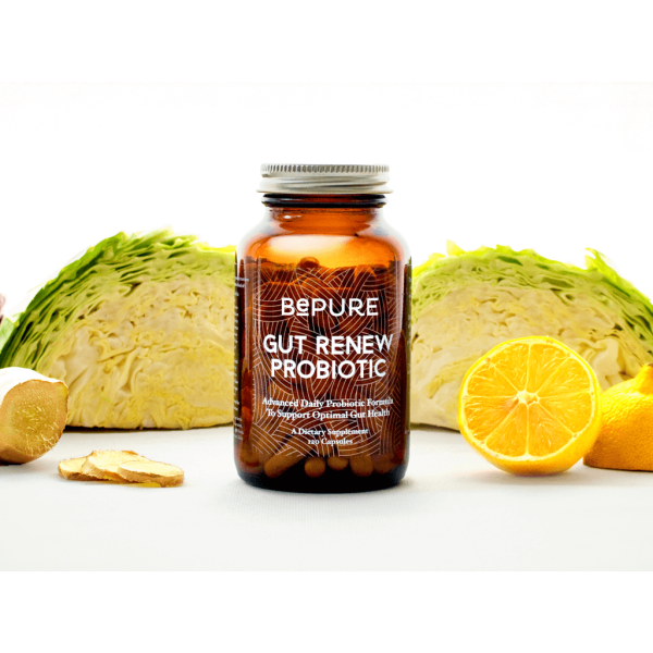 BePure Gut Renew Probiotic 120 Capsules