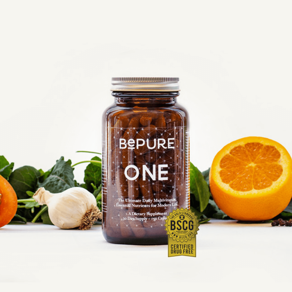 BePure One Daily Multivitamin 150 Capsules