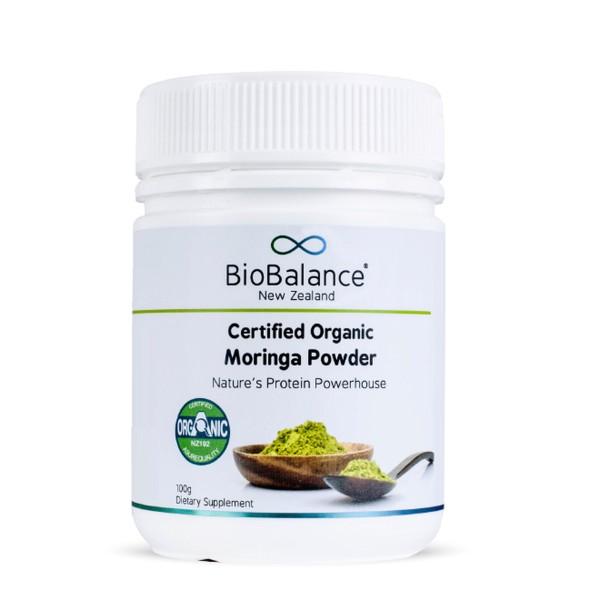 Bio Balance Certified Organic Moringa Powder 100g