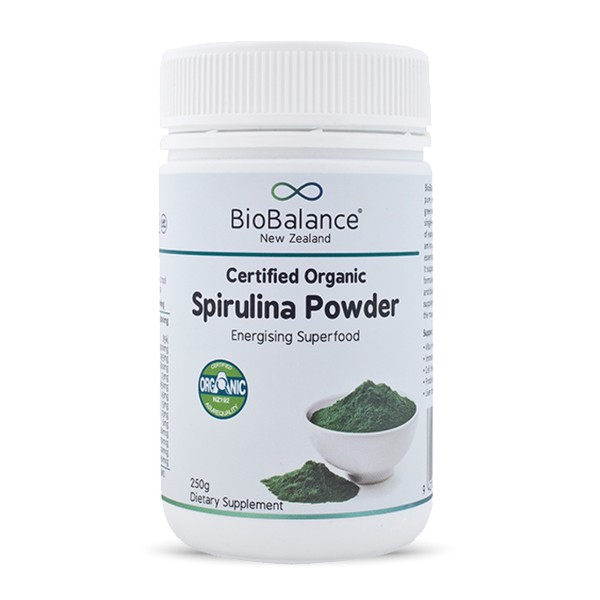 Bio Balance Certified Organic Spirulina Powder 200g