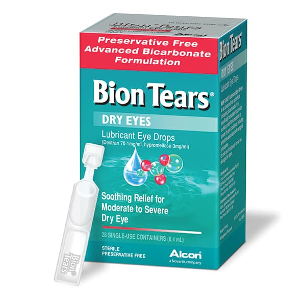 Bion Tears Lubricant Eye Drops 28x0.4ml