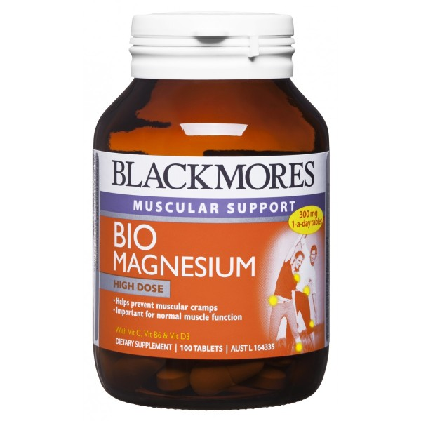 Blackmores Bio Magnesium 100 Tablets