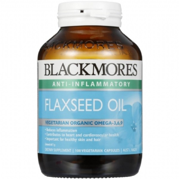 Blackmores Flaxseed Oil 1000mg 100 Capsules