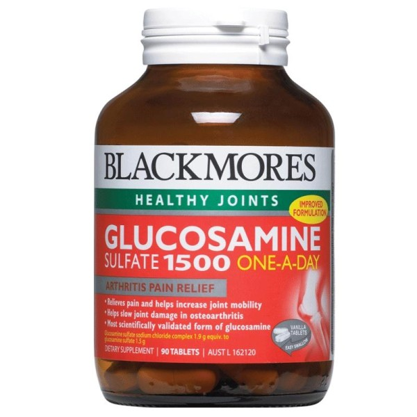 Blackmores Glucosamine Sulfate 1500mg 90 Tablets