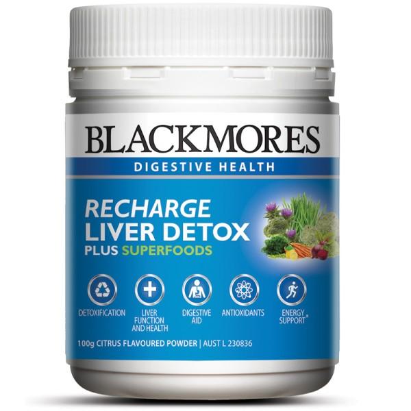 Blackmores Recharge Liver Detox 100g