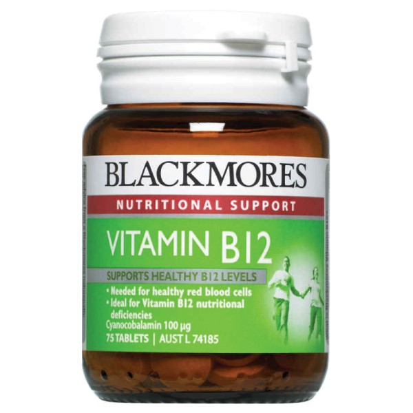Blackmores Vitamin B12 75 Tablets