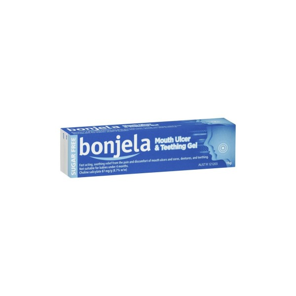 Bonjela Mouth Ulcer & Teething Gel 15g