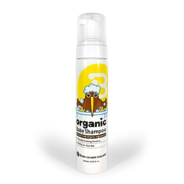 Baby Shampoo Organic Foaming Formula 200ml