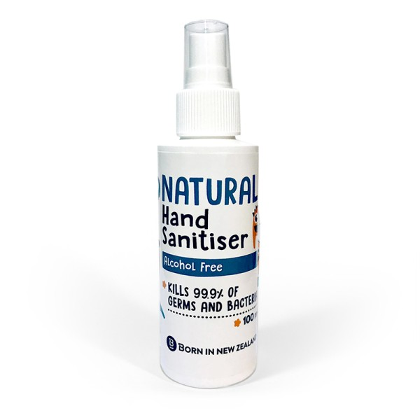 Natural Hand Sanitiser Alcohol Free 100ml