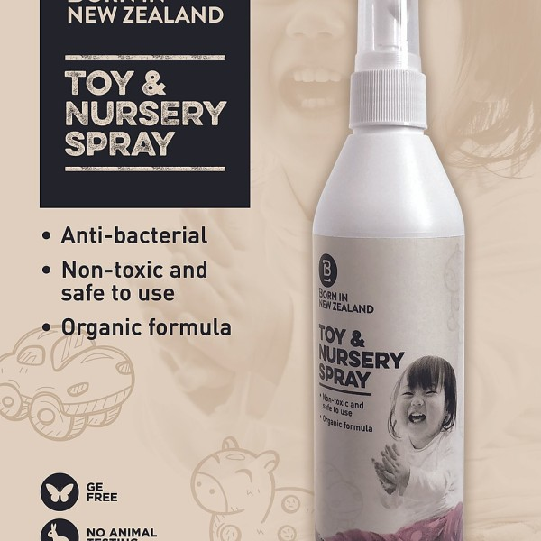 Toy and Nursery Spray Organic 250ml