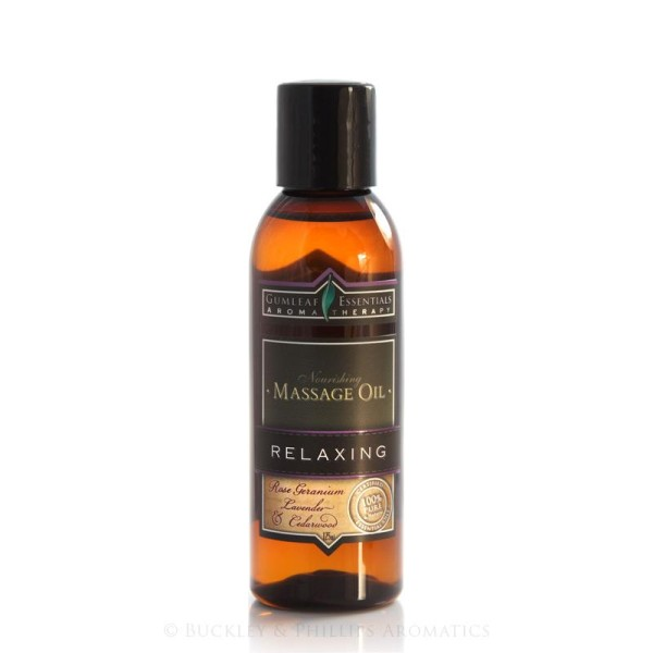 Buckley & Phillips Aromatics Relaxing Massage Oil 125ml
