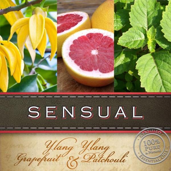 Buckley & Phillips Aromatics Sensual Massage Oil 125ml