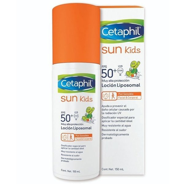Cetaphil Sun Sunscreen SPF50+ Kids Liposomal Lotion 150ml