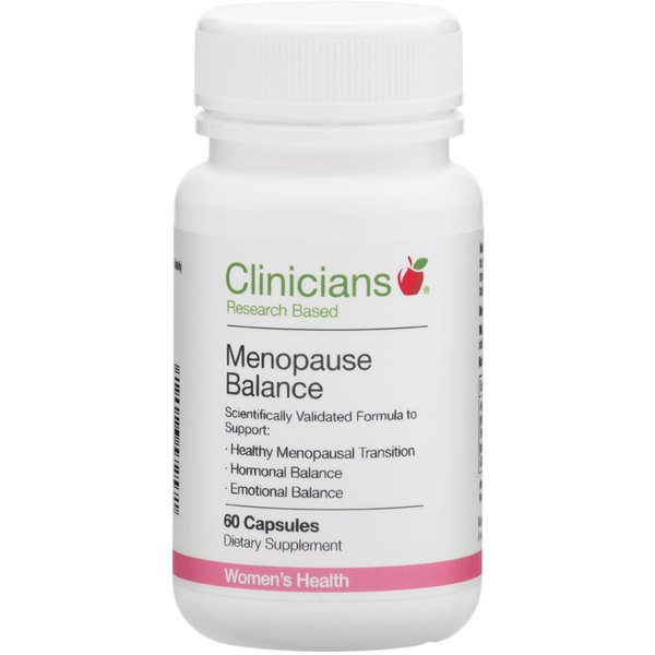 Clinicians Menopause Balance 60 Capsules