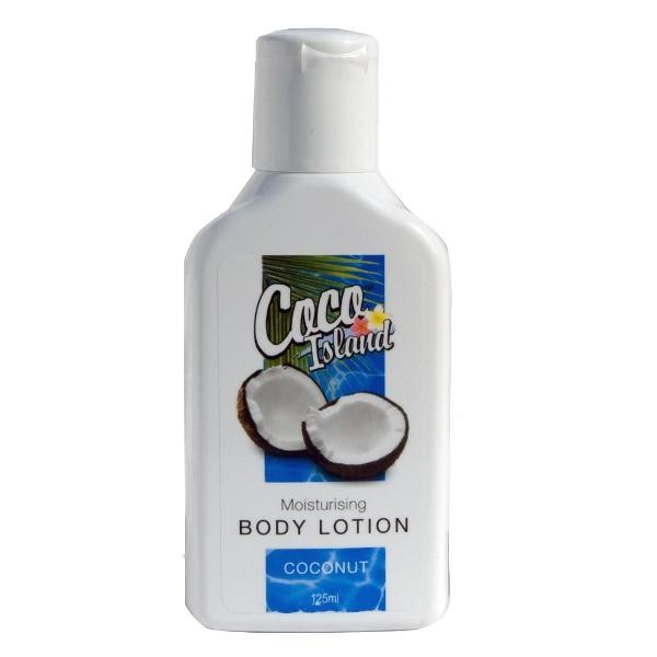 Coco Island Coconut Moisturising Body Lotion 125ml