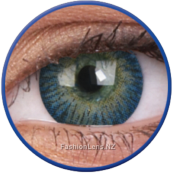 ColourVue Colour Contact Lens 3 Tones Blue