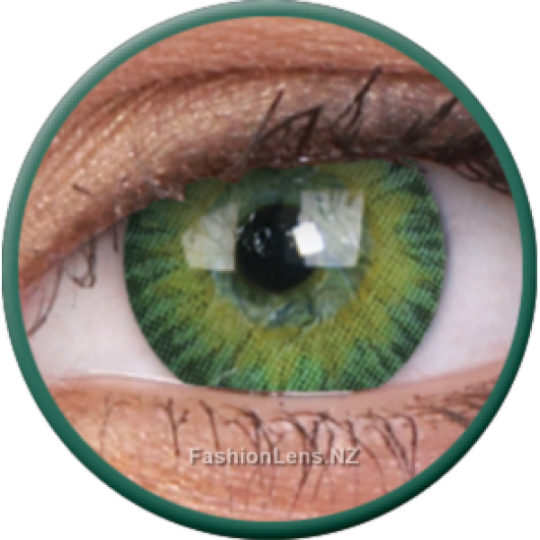 ColourVue Colour Contact Lens 3 Tones Green