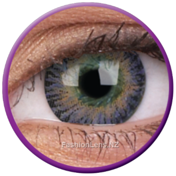 ColourVue Colour Contact Lens 3 Tones Violet