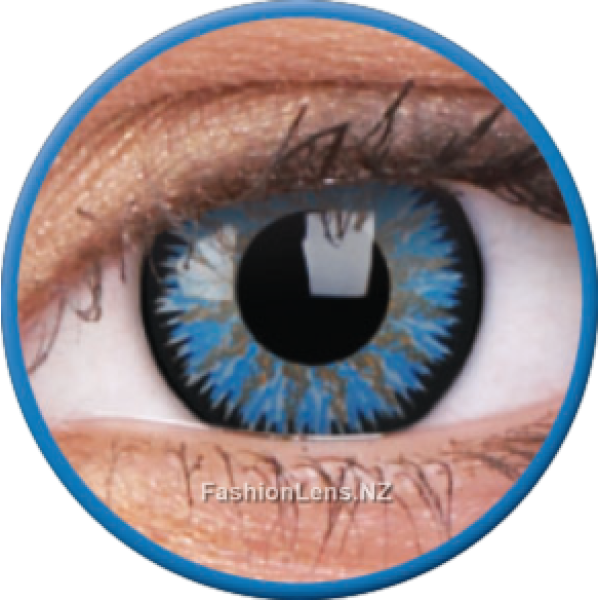 ColourVue Colour Contact Lens Glamour Aqua