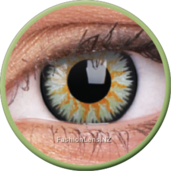 ColourVue Colour Contact Lens Glamour Green