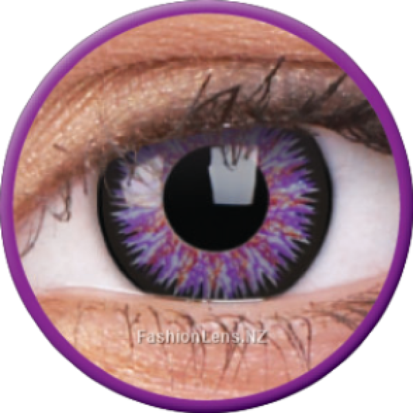 ColourVue Colour Contact Lens Glamour Violet