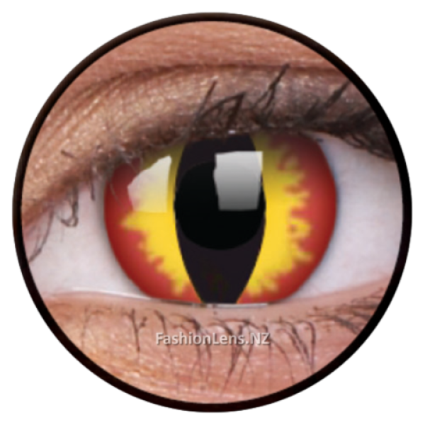 ColourVue Crazy Contact Lens Dragon Eyes