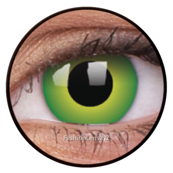 ColourVue Crazy Contact Lens Hulk Green