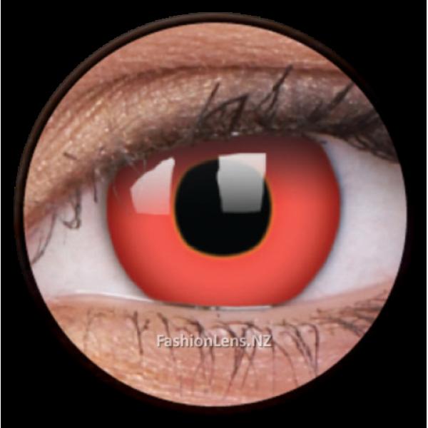 ColourVue Crazy Contact Lens Red Devil