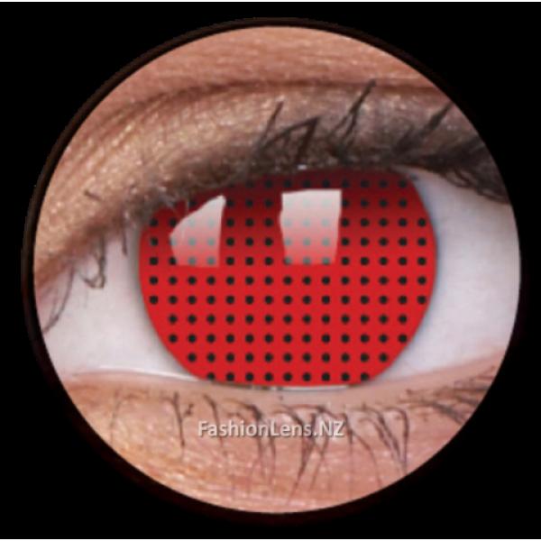ColourVue Crazy Contact Lens Red Screen