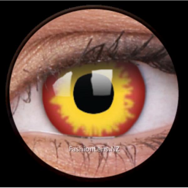 ColourVue Crazy Contact Lens Wild Fire