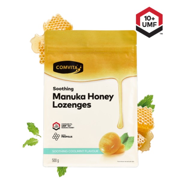 Comvita Manuka Honey Lozenges Coolmint Flavour