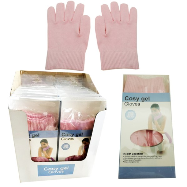 Cosy Gel Gloves Pink