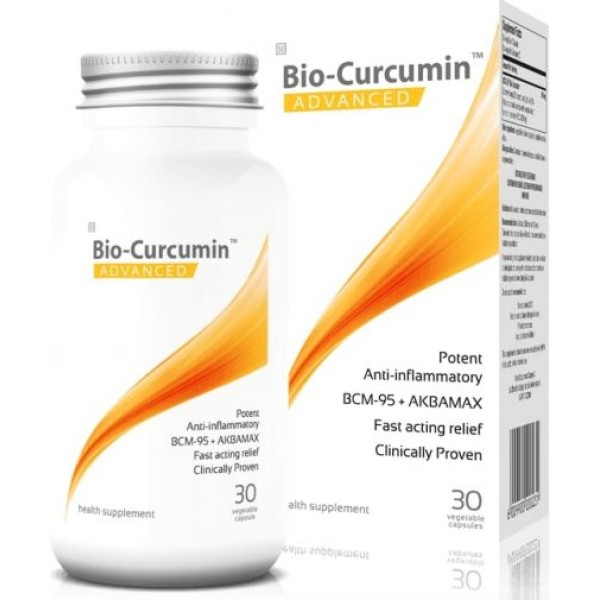 Coyne Healthcare Bio-Curcumin Advanced with Boswellia 30 Vege Capsules