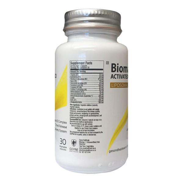 Coyne Healthcare Biomax Activated B Complex Liposomal 30 Vege Capsules