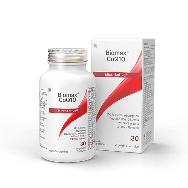 Coyne Healthcare Biomax CoQ10 280mg 30 Vege Capsules
