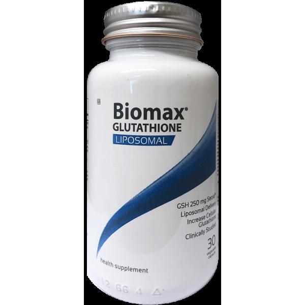 Coyne Healthcare Biomax Glutathione 625mg Liposomal 30 Vege Capsules