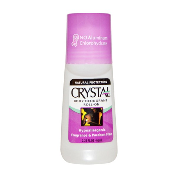 Crystal Body Deodorant Roll On 66ml