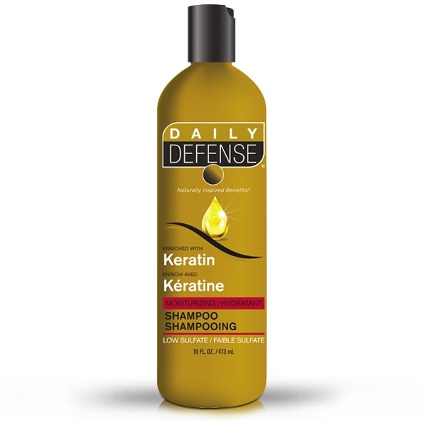 Daily Defense Keratin Shampoo 473 ml