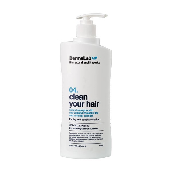 DermaLab 04 Clean Your Hair 430ml