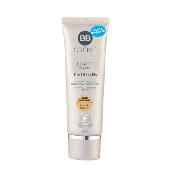 Designer Brands BB Creme 50ml Light Medium