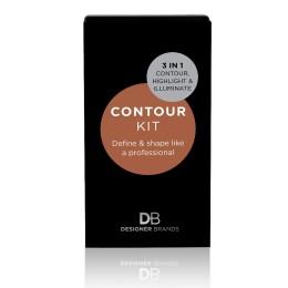 Designer Brands Contour Kit - Light/Medium